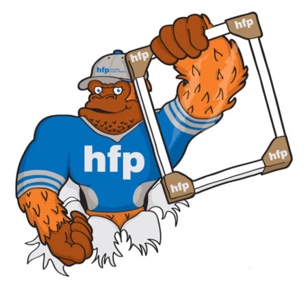 HFP Gorilla Mascot Image